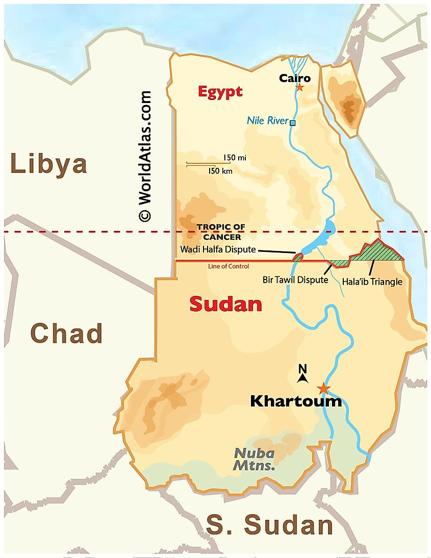 Egypt-Sudan border