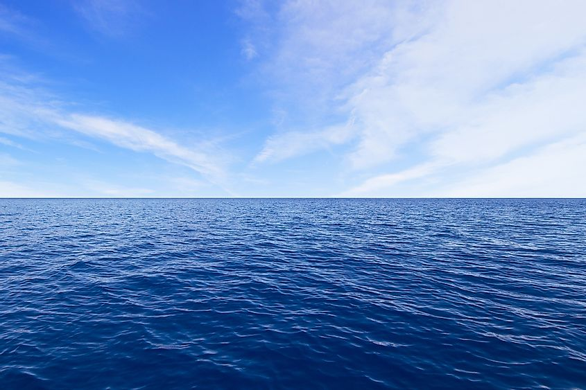 Many countries on Earth border at least one ocean.