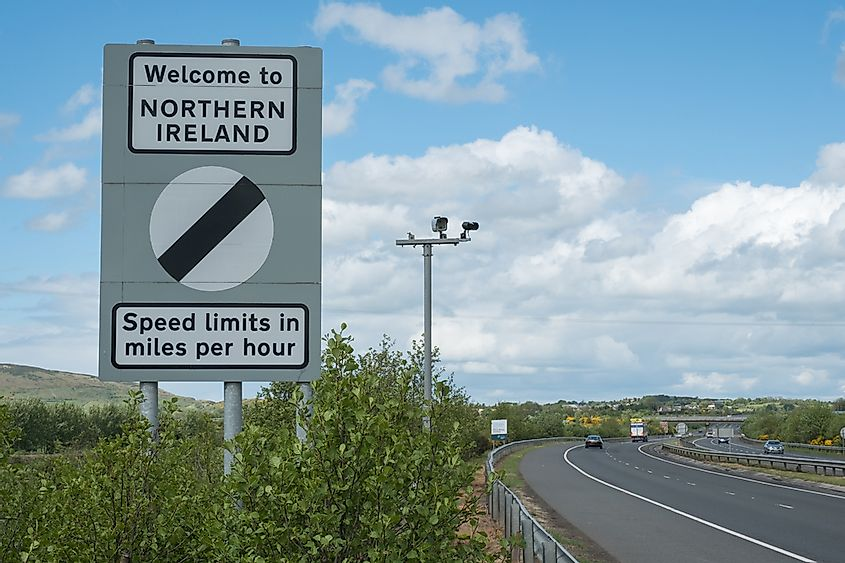 Northern Ireland is part of the United Kingdom. Editorial credit: Remizov / Shutterstock.com