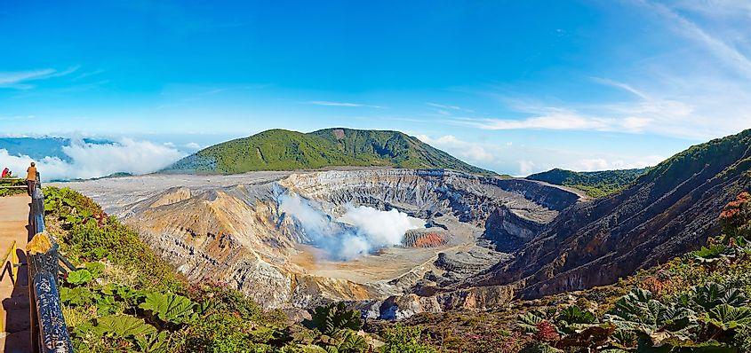 Volcán Poás, Costa Rica, Centroamérica