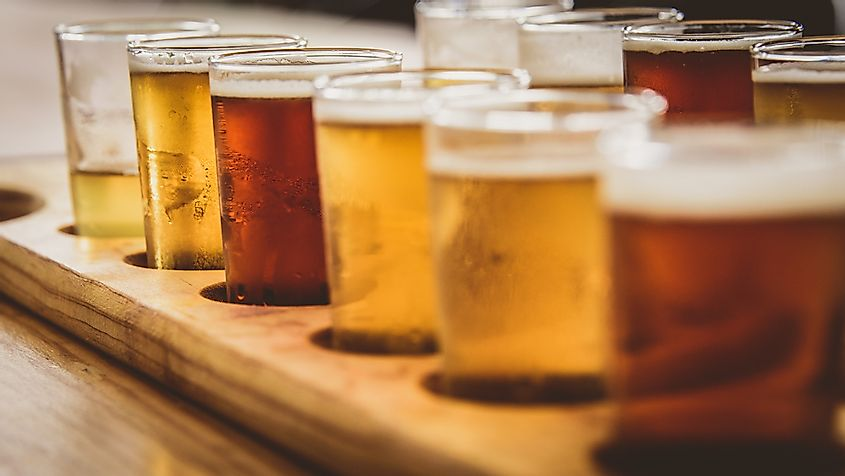Microbreweries have gained popularity in recent years.