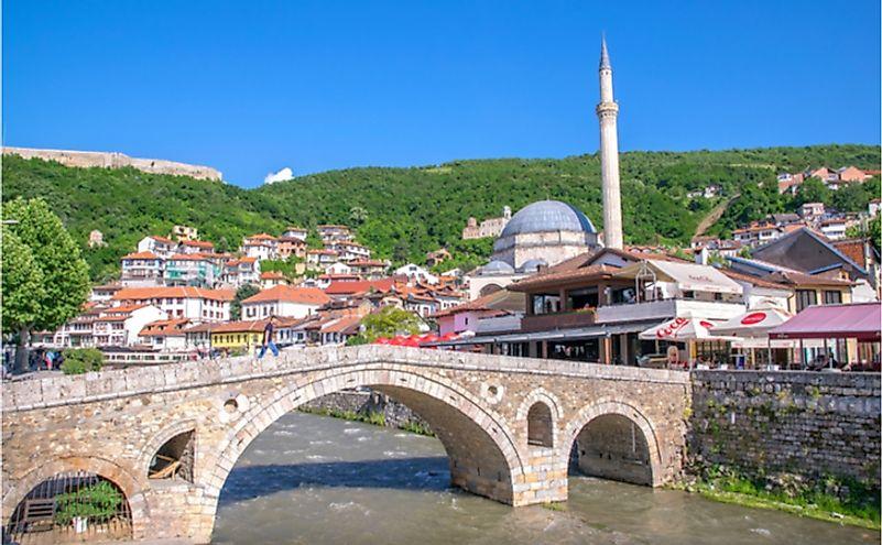 The Largest Cities In Kosovo - WorldAtlas