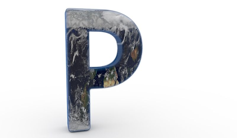 There are a number of countries whose names begin with the letter P.