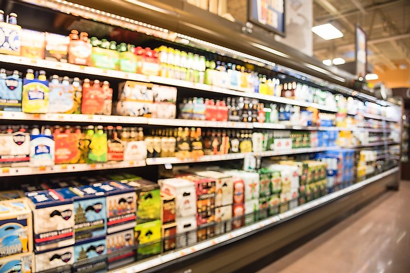 Food and beverages are also a major US import, and their value is estimated to be about $150 billion.
