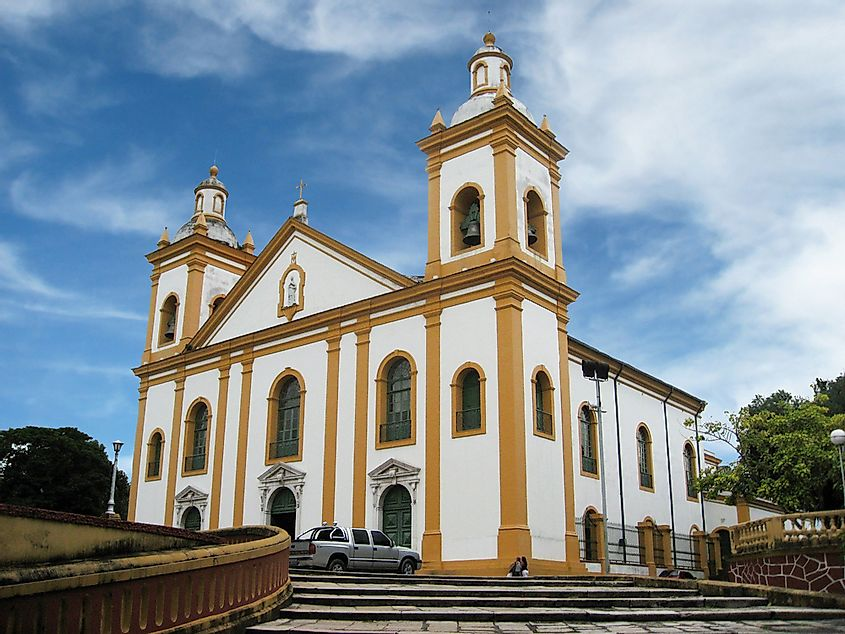 The Cathedral of Manaus, in Manaus, Brazil.