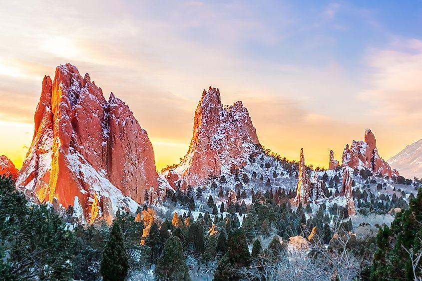 Garden of the Gods, Colorado - Unique Places around the World