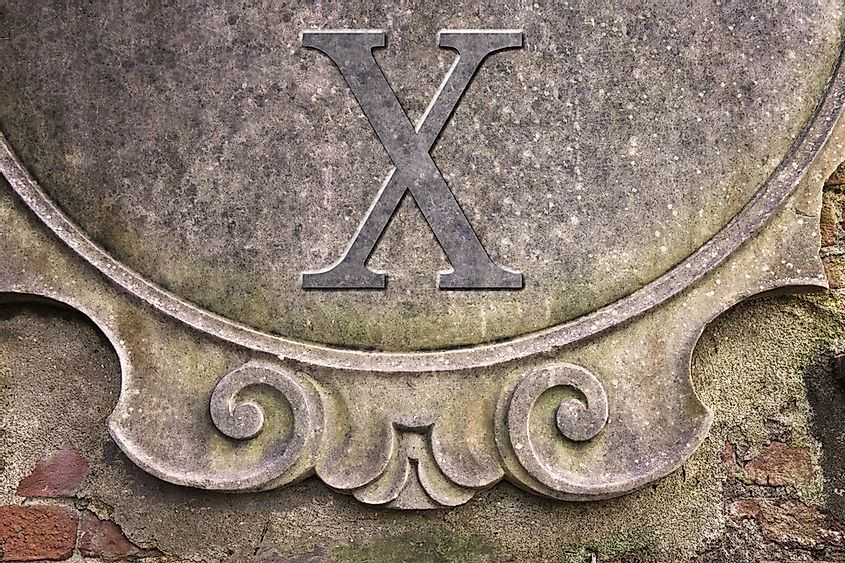 There are several variants of Roman numerals, but the most common one is the standard form.