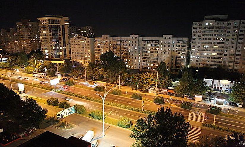 Biggest Cities In Moldova - WorldAtlas