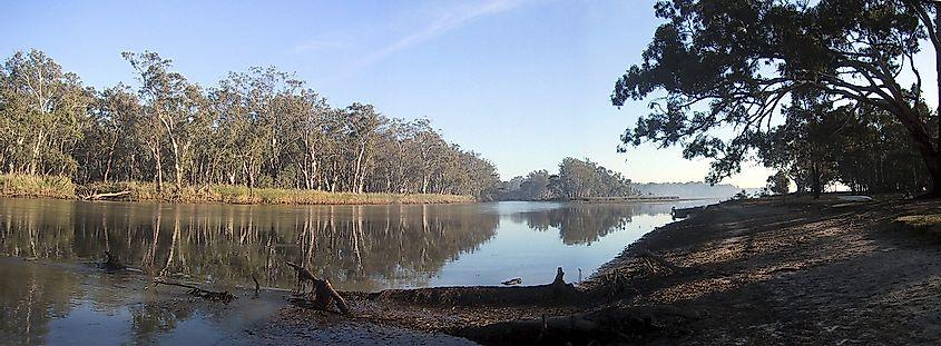 The Murray River Worldatlas