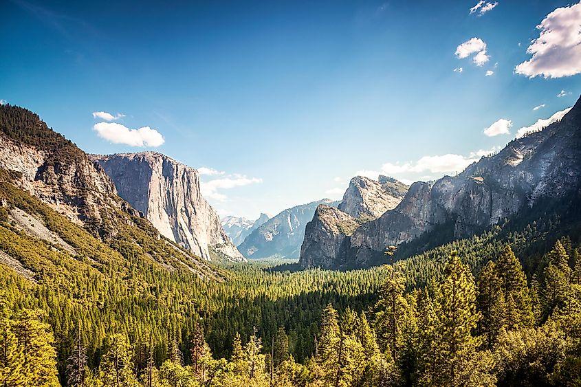 Sierra Nevada Yosemite Valley