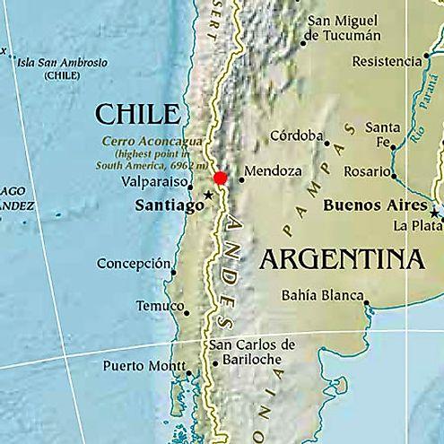 Matthias Zurbriggen Aconcagua Mountain Argentina South America Information Page