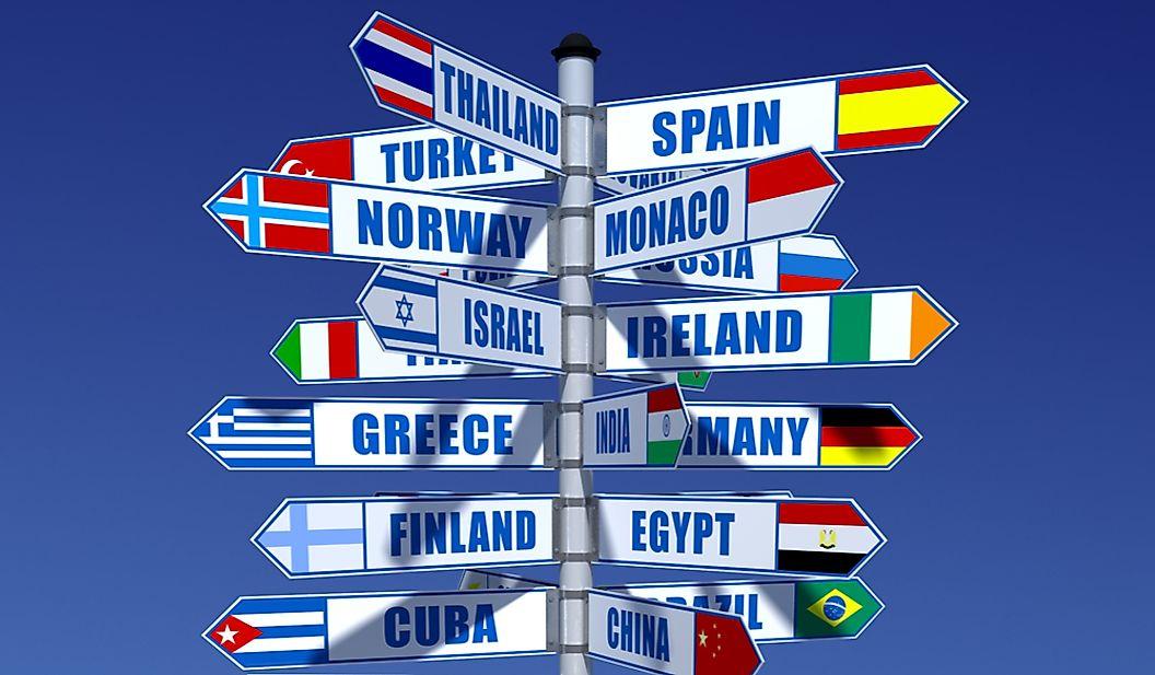 Как страны приобретают свои названия?