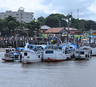 brazil, amazon river, amazon ferry boats