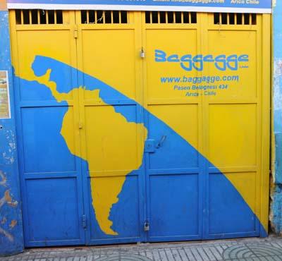 chile, arica, baggage service