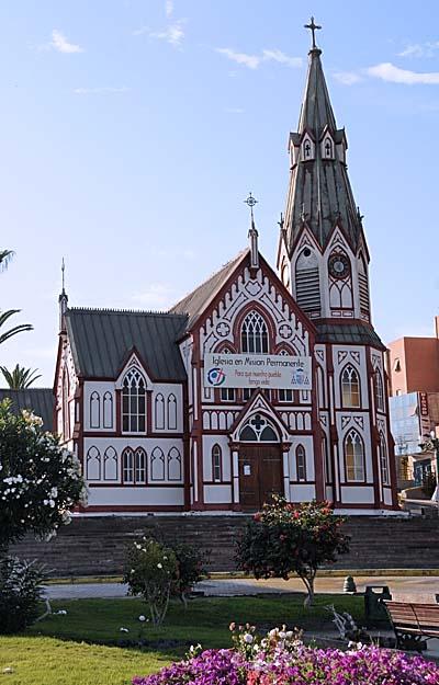 chile, arica, iglesia san marco de arica