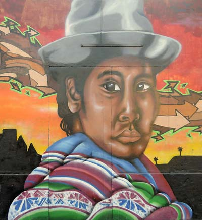 chile, arica, street art