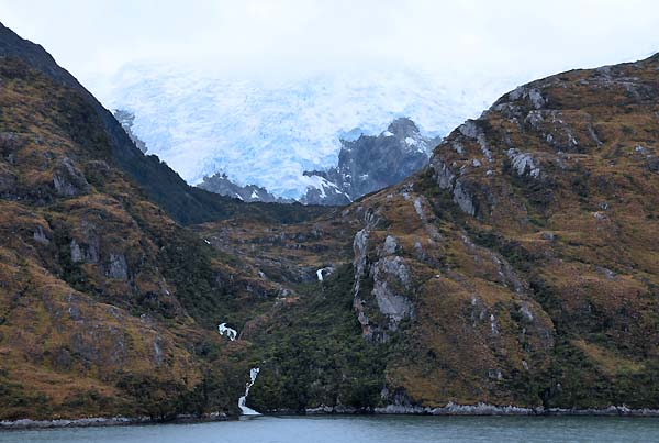 chile argentina, beagle channel, francia glacier