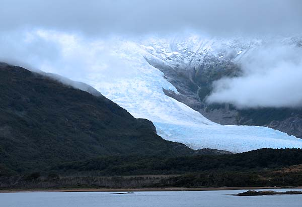 chile argentina, beagle channel, holanda glacier