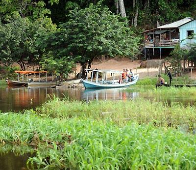 brazil, boca da valeria, waterfront scenery
