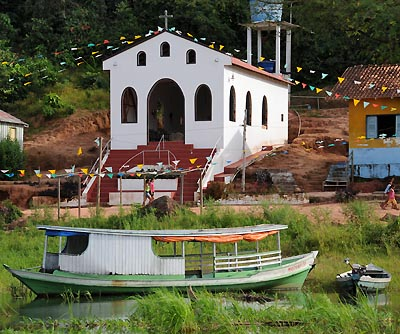 brazil, boca da valeria, church