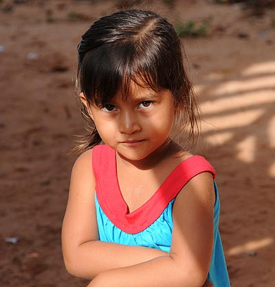 brazil, boca da valeria, little girl