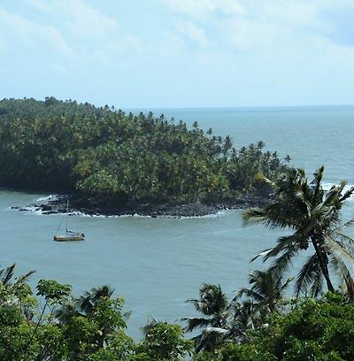 devils island scenery