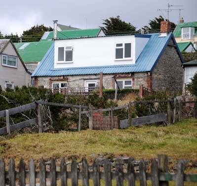 falkland islands, houses