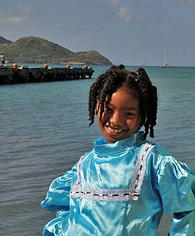 colombia, isla de providencia, cute girl