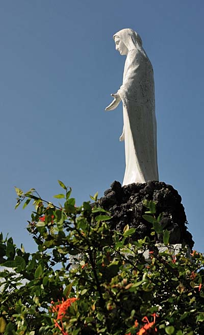 colombia, isla de providencia, virgin mary