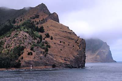 chile, isla robinson crusoe, cliffs