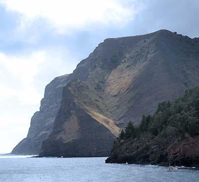 chile, isla robinson crusoe, coastline