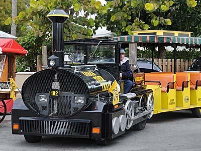 florida, key west, conch train
