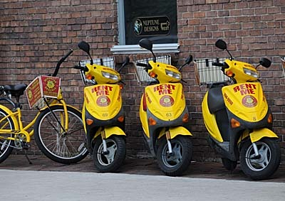 florida, key west, scooters