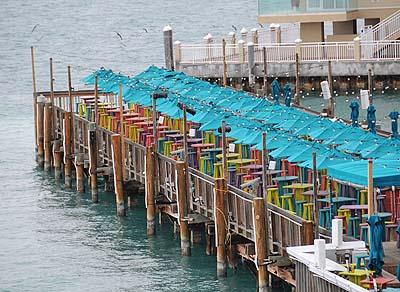 florida, key west, umbrellas
