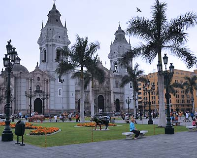 peru, lima, assumption cathedral