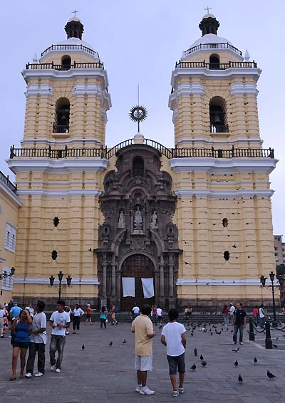 peru, lima, church of san franciso ancash