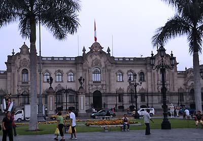 peru, lima, presidential palace