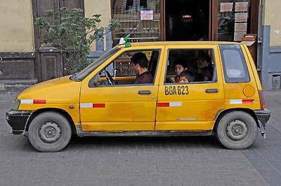 peru, lima, taxi