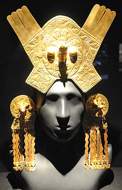 peru, lima, ancient jewelry