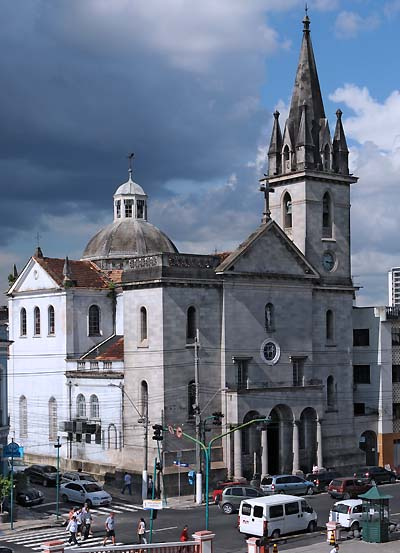 brazil, manaus, 19th century church