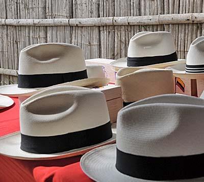 ecuador, manta, hats