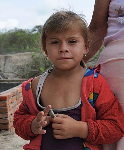 ecuador, manta, little girl