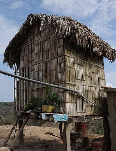 ecuador, manta, family house