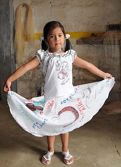 ecuador, manta, sunday dress