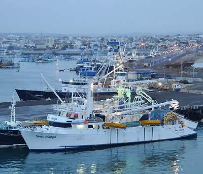 ecuador, manta, tuna boats