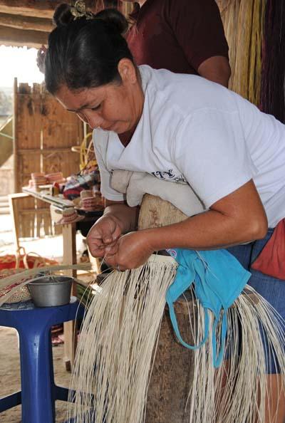 ecuador, manta, working woman