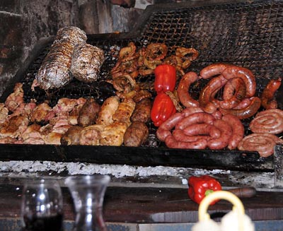 uruguay, montevideo, barbeque restaurants