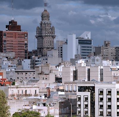 uruguay, montevideo, montevideo skyline