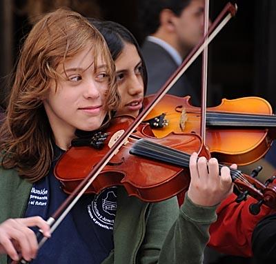 uruguay, montevideo, violinist