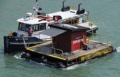 panama, panama canal, boat